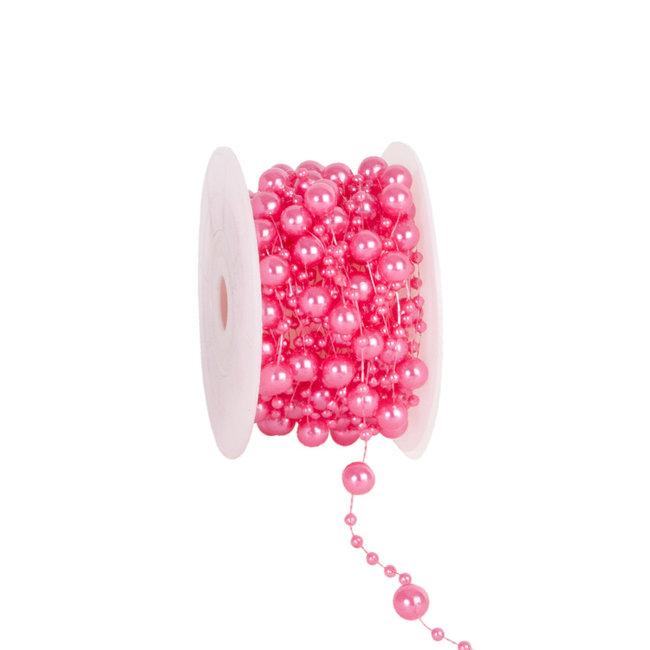Round Beads Roze - 8mm x 10m