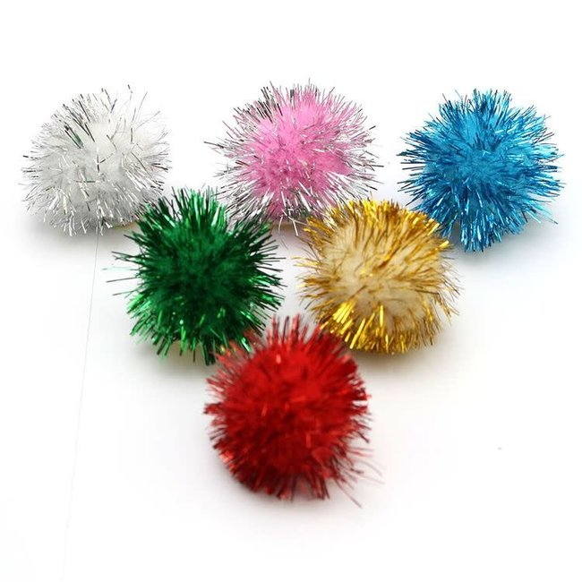 Micro Pompon Assorti 100st