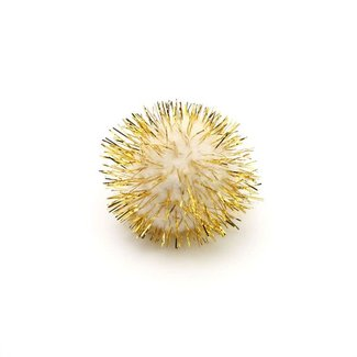 Micro Pompon Goud 100st