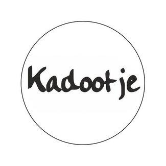 Stickers Old School Kadootje 500st - 39mm