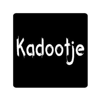 Stickers Schoolbord Kadootje 500st - 45mm x 45mm