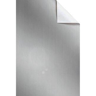 Vellen Uni Streifen Zilver 15st - 50cm x 70cm