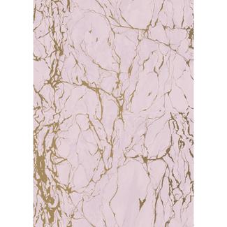 Cadeaupapier Marble Pink - 30cm x 200m