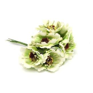 Flowers On Pick Groen 60st - 45mm x 8.5cm
