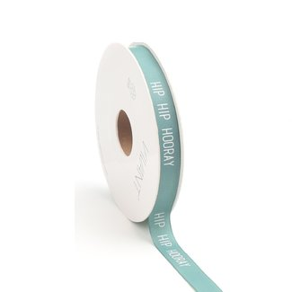 Hip Hooray Ribbon Smaragd - 12mm x 15m
