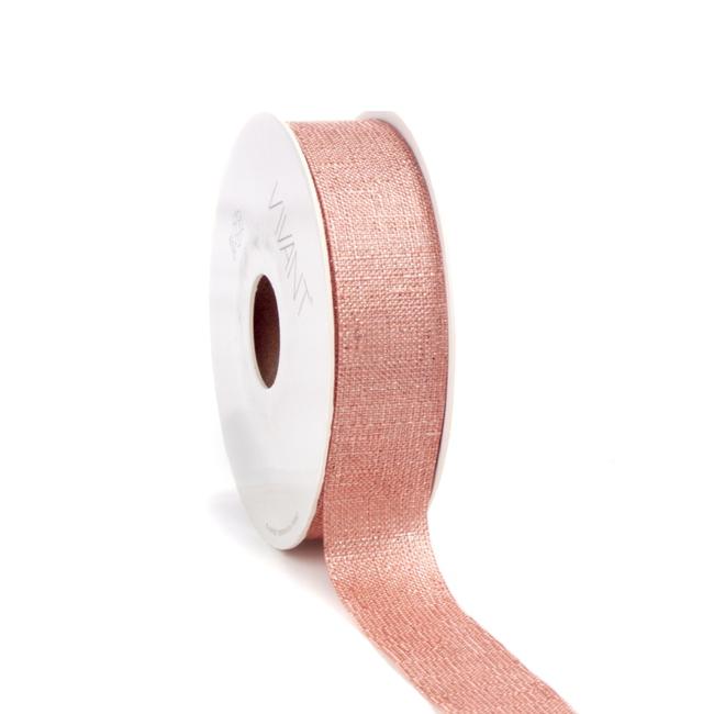 Luster Ribbon Cantaloupe - 25mm x 20m