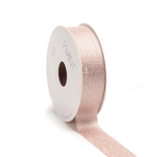 Luster Ribbon Koper - 25mm x 20m
