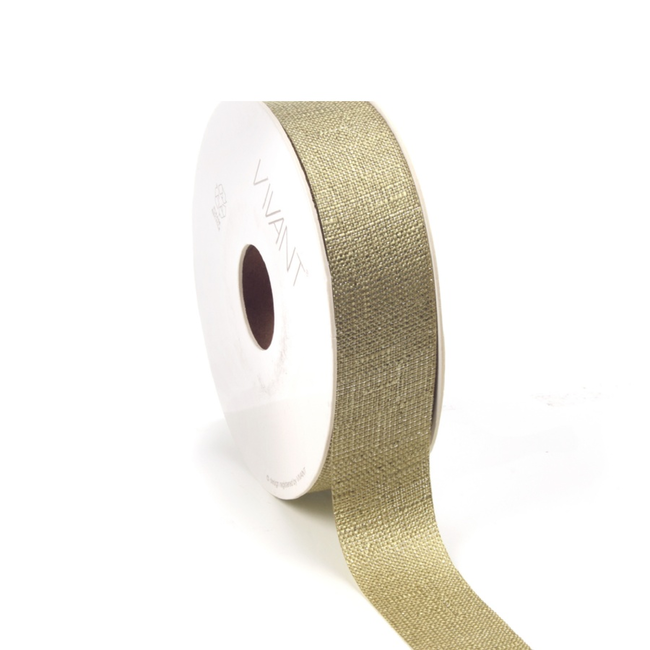 Luster Ribbon Lichtgoen - 25mm x 20m