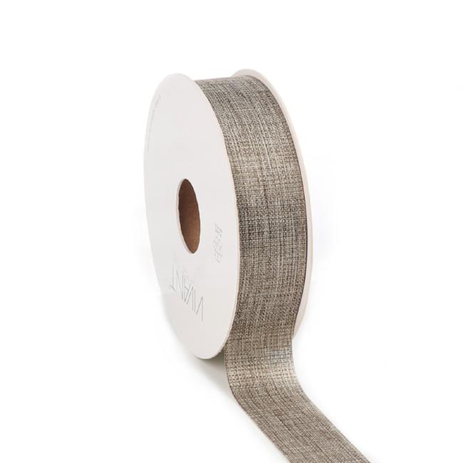 Luster Ribbon Olijf - 25mm x 20m