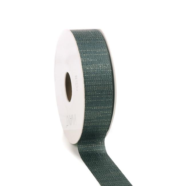 Luster Ribbon Smaragd - 25mm x 20m