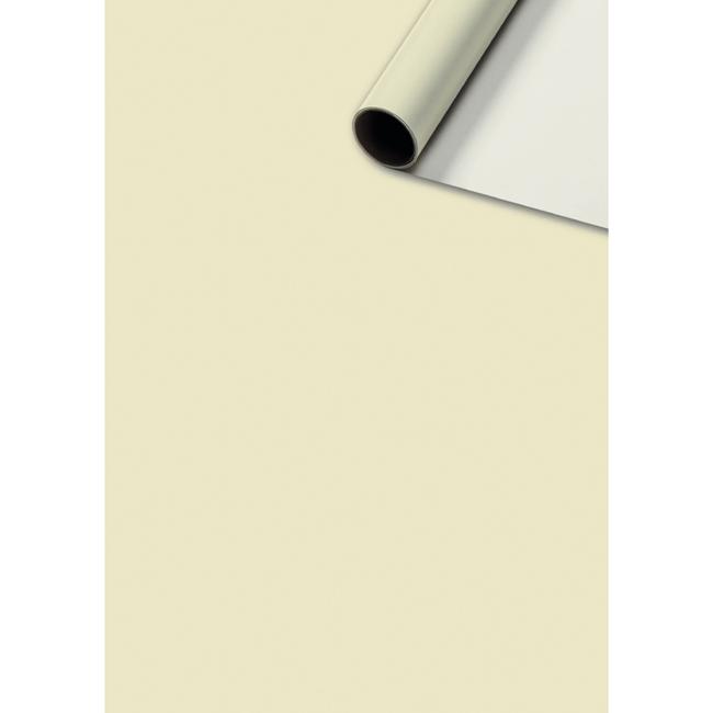 Consumentenrollen Uni Plain Beige 6st - 70cm x 2m