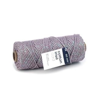 Cotton Irisé Aubergine - 3mm x 50m