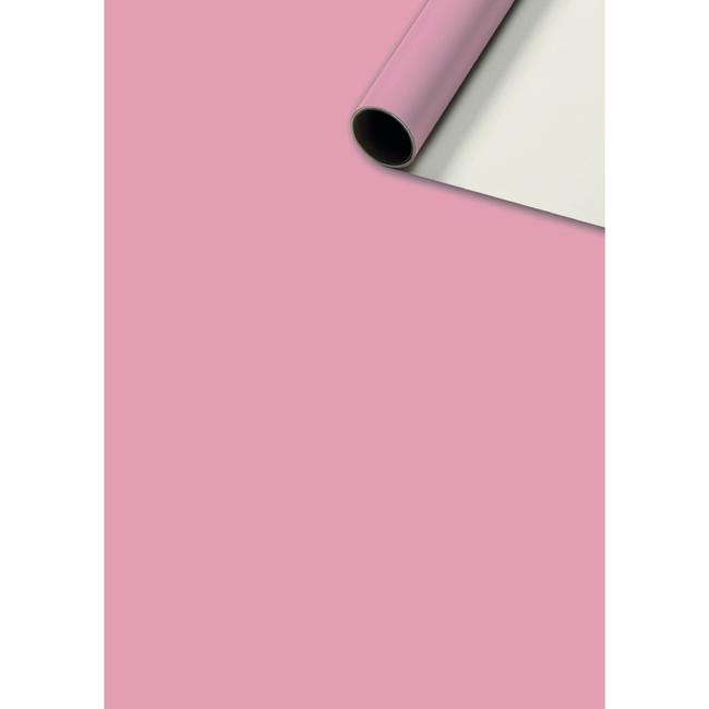 Consumentenrollen Uni Plain Roze 6st - 70cm x 2m