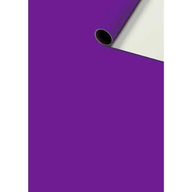 Consumentenrollen Uni Plain Paars 6st - 70cm x 2m