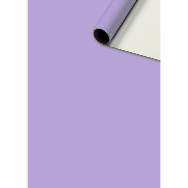 Consumentenrollen Uni Plain Lila 6st - 70cm x 2m