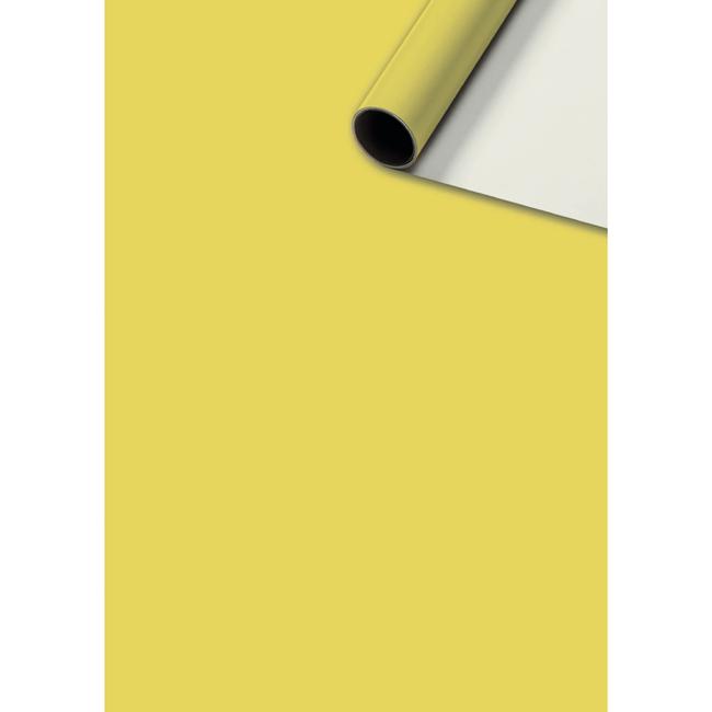 Consumentenrollen Uni Plain Geel 6st - 70cm x 2m