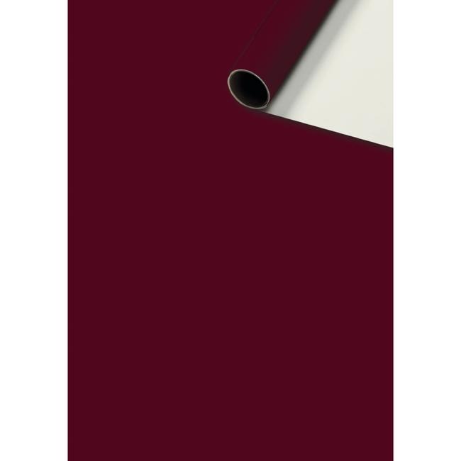 Consumentenrollen Uni Plain Bordeaux 6st - 70cm x 2m