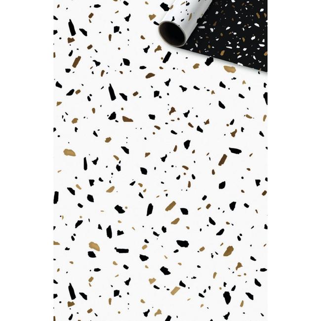Consumentenrollen Terrazzo Goud 6st - 70cm x 1,5m