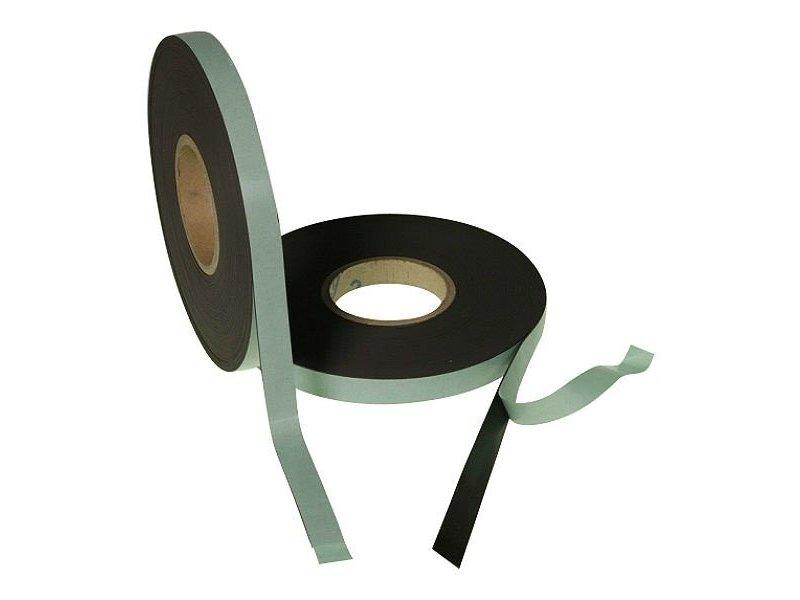 Selbstklebendes Magnetband 25 mm auf Rol