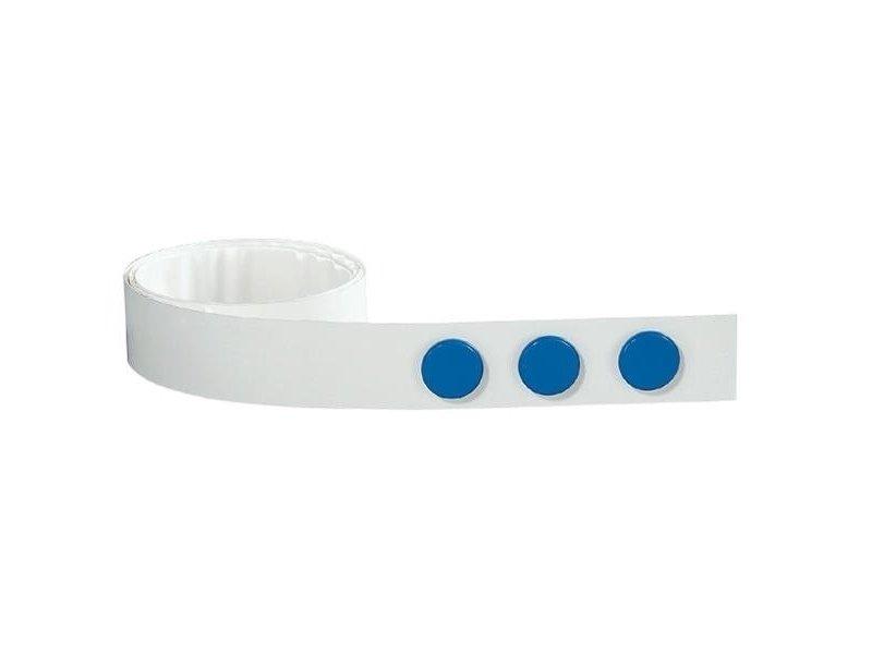 Metaalband  Zelfklevend 35 mm op rol van 5 meter met losse magneten