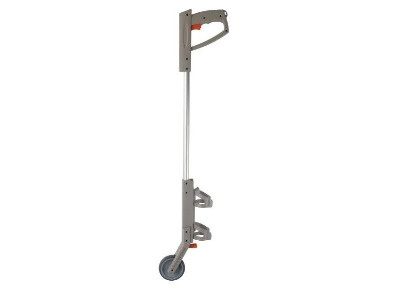 Kadeem Spuitbushouder lang met wiel PVC
