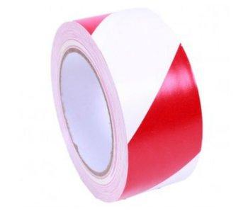 Markierungsband Rot - Weiß 50 mm x 33 mtr