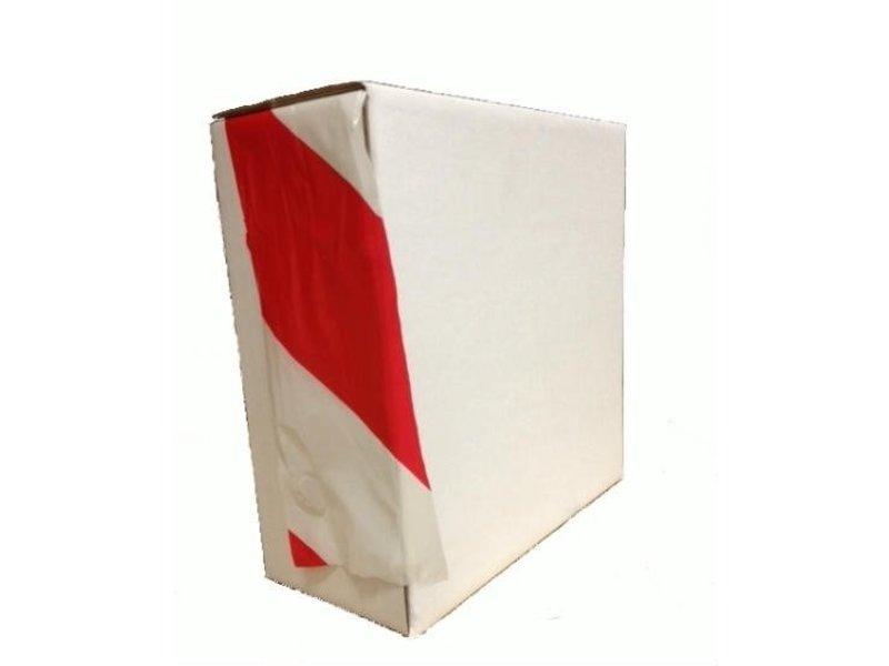 Absperrband rot-weiß 75 mm x 500m