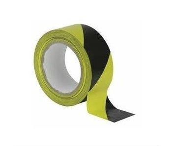 Absperrband schwarz-gelb 75mm