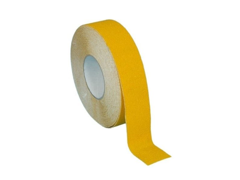 Antislip Tape Geel 50mm x 18 mtr