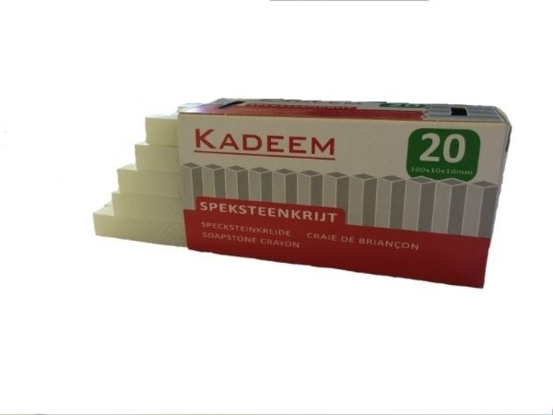 Kadeem Speksteen 100x10x10 (doos van 20 stuks)