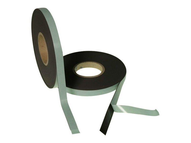 Zelfklevend magneetband 19 mm op rol