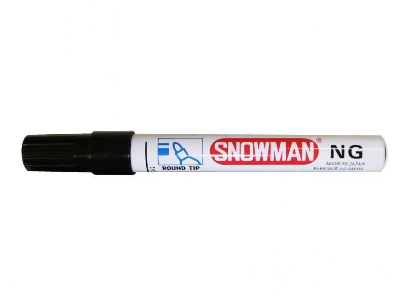 Snowman NG Zwart Merkstif