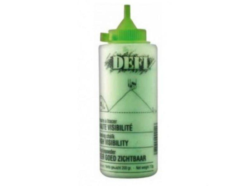 Defi Slaglijnpoeder Fluor Groen 200 gr