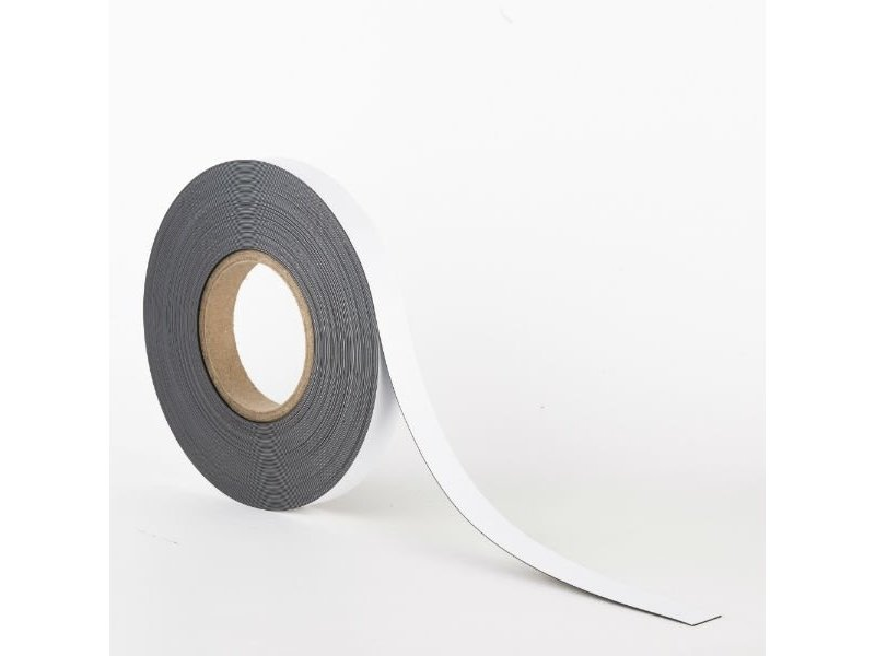 20 mm Magnetband mit Whiteboard - Oberfläche