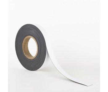 25 mm Magneetband met Whiteboardcoating