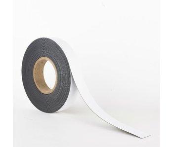 30 mm Magneetband met Whiteboardcoating