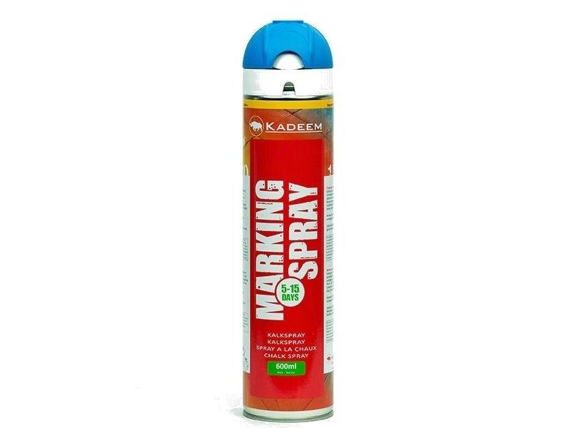 Kadeem Marking Spray Blauw (tijdelijk markering) Krijtspray 600 ml 360º