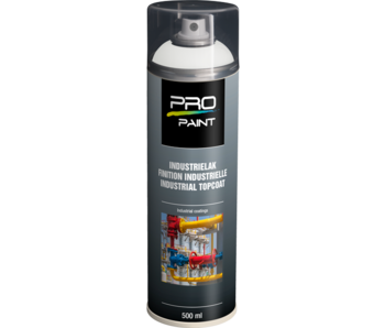 Pro-Paint Industrielak deklaag (Ral 9010)  Zuiverwit Mat