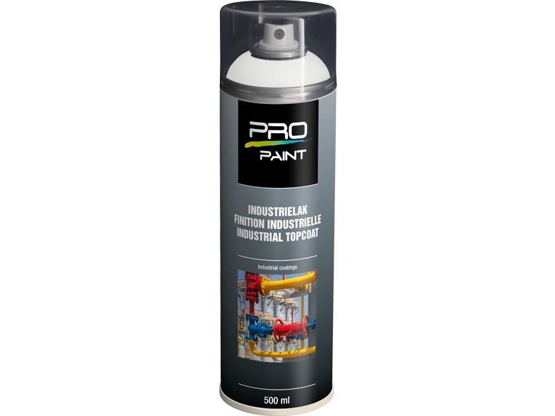 Pro-Paint Ral Industrielacke (Ral 9010) Reinweiß mat