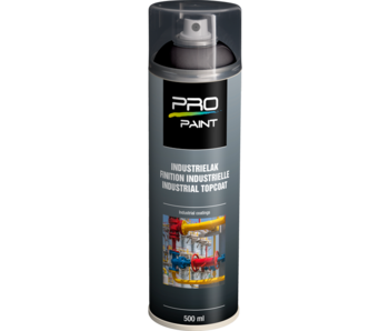 Pro-Paint Industrielak deklaag (Ral 9005) diepzwart HG