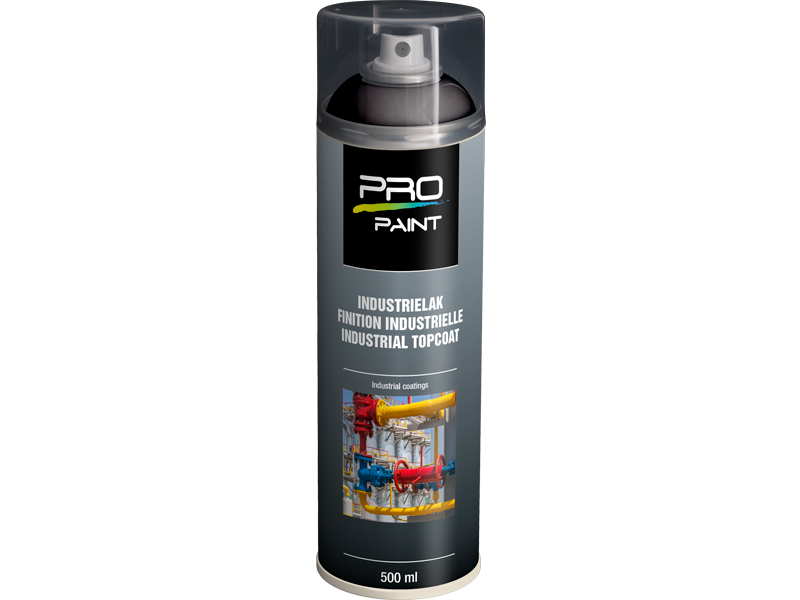 Pro-Paint Industrielak deklaag diepzwart HG (Ral 9005) HG