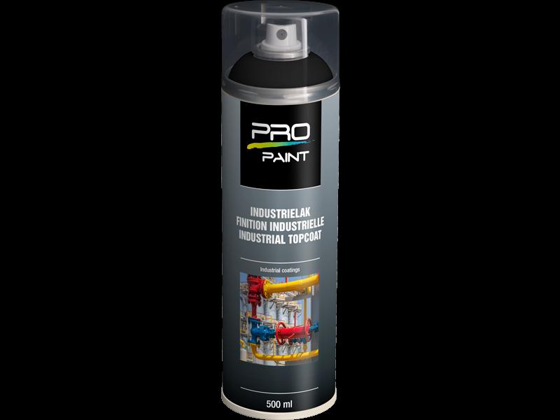 Pro-Paint Industrielak deklaag diepzwart Mat (Ral 9005)