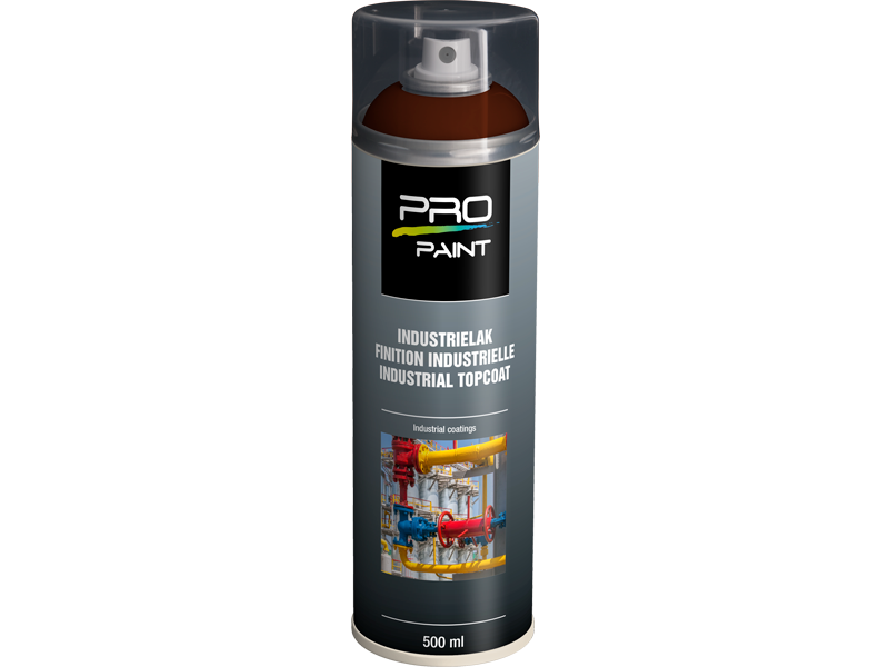Pro-Paint Industrielak deklaag signaalbruin HG (Ral 8002)