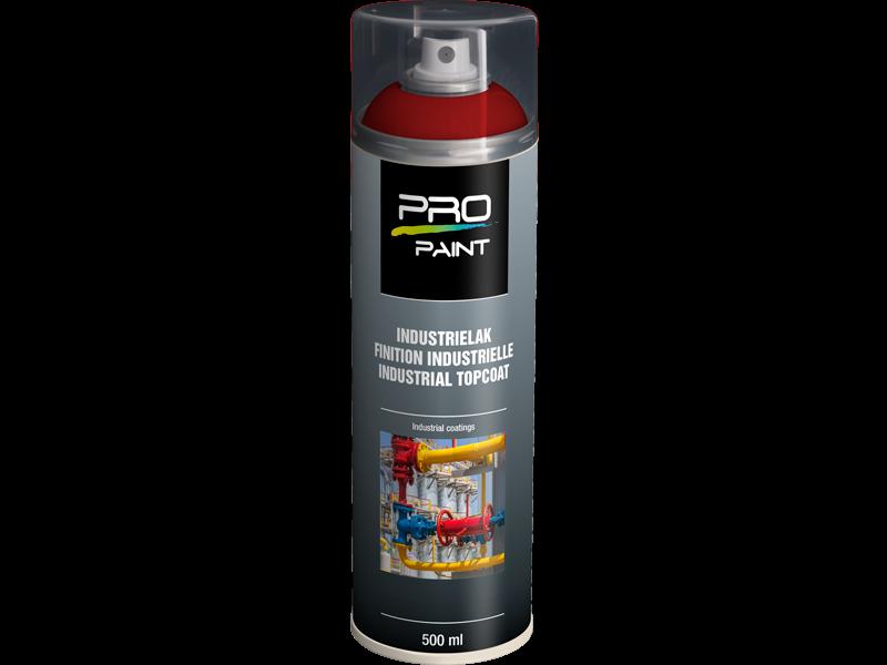 Pro-Paint Industrielak deklaag vuurrood HG (Ral 3000)