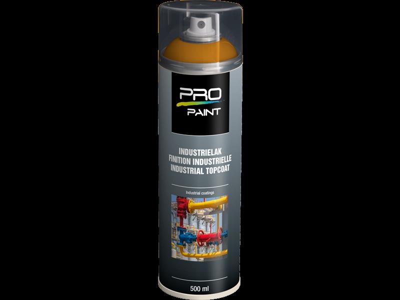 Pro-Paint Industrielak deklaag geeloranje HG (Ral 2000)