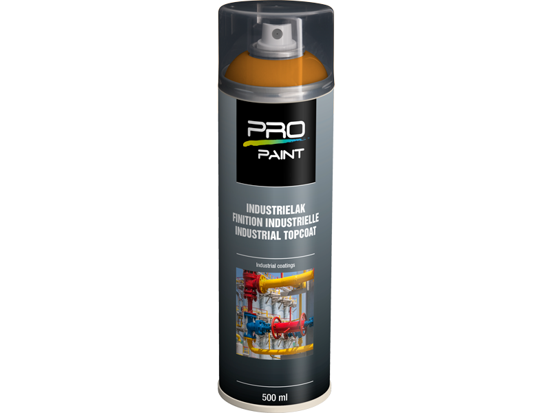 Pro-Paint Industrielak deklaag meloengeel HG (Ral 1028)