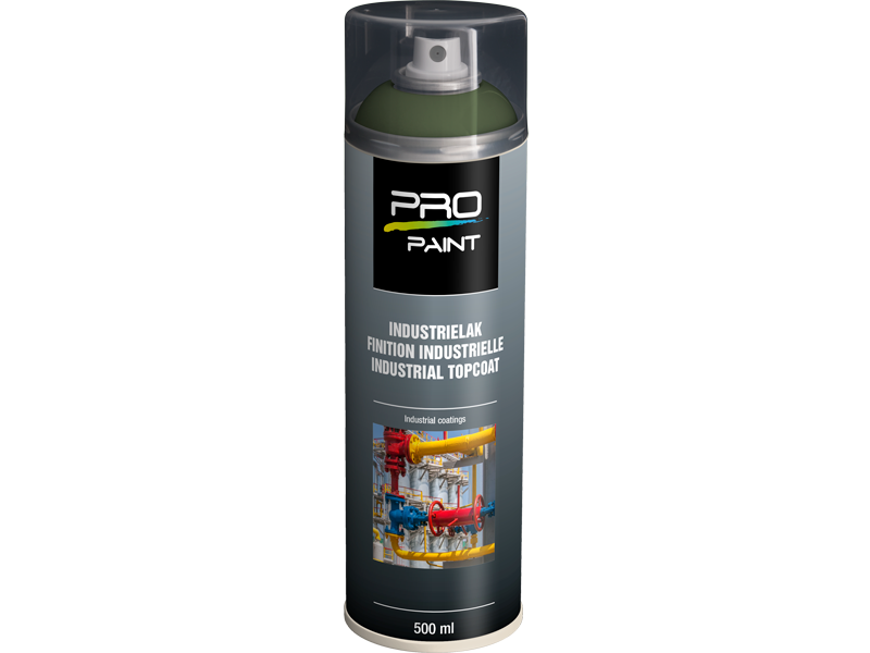 Pro-Paint Industrielak deklaag resedagroen HG(Ral 6011)