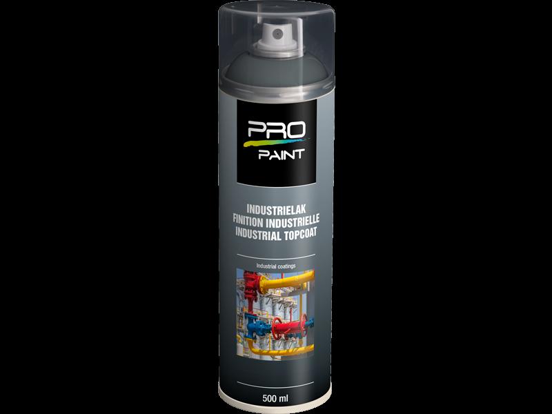Pro-Paint Industrielak deklaag verkeersgrijs HG (Ral 7042)