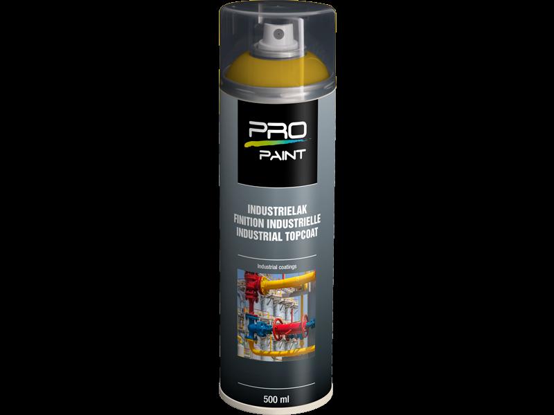 Pro-Paint Industrielak deklaag verkeersgeel HG (Ral 1023)