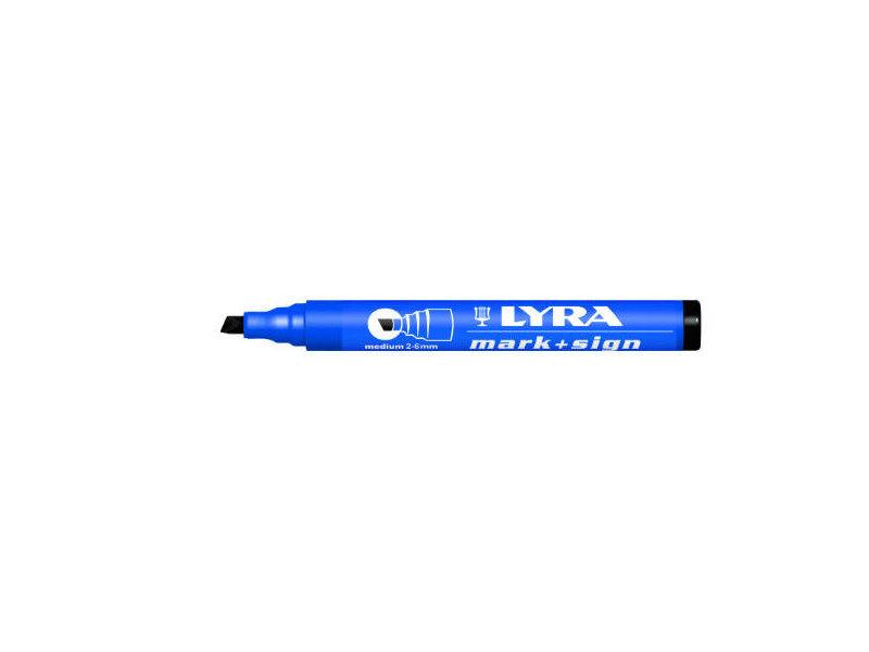 Lyra Mark + Sign marker 2-6 mm Zwart